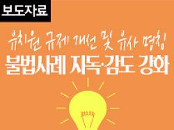 유치원 규제 개선 및 유사명칭 불법사례 지도·감독 강화