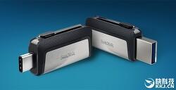 샌디스크 USB 메모리 USB 3.1 타입 C 지원 울트라 듀얼 드라이브
