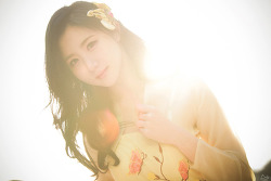 역광으로 담아본 따뜻한 햇살과 그녀 MODEL: 연다빈 (7-PICS)