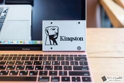 킹스톤 SSD UV400 480GB 후기, 저렴하면서 빠르다