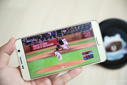 oksusu(옥수수)에서 MLB, 프로야구 무료시청 하기! - 실시간 TV 어플