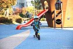 유아자전거 어린이 킥보드 헬로토이 스쿳앤라이드(Scoot and Ride) 후기!