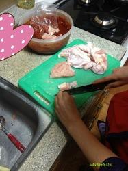 [사진이야기] 어머니가 해주신 맛난 닭갈비!