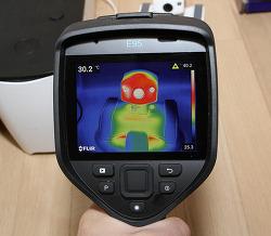 FLIR E95 플리어 열화상카메라 저속 촬영 자동 초점 사용기