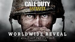 '콜 오브 듀티: WW2' 발표