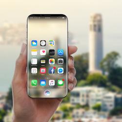 아이폰8 OLED 커브드 디스플레이, 새 기능 포함?