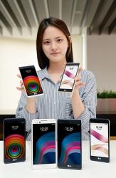 최신 스마트폰 LG전자, 보급형 스마트폰 'X 시리즈