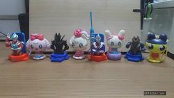 2015년 3월 맥도날드 해피밀 울트라맨과 다마고치8종 (McDonald's Happy Meal Toy Corea)