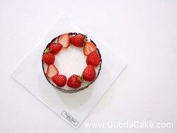 왕십리 케익 공방 [굽다케이크] 딸기 듬뿍 생크림 케이크 만들기 원데이 수업 후기 - 초코렛 데코레이션