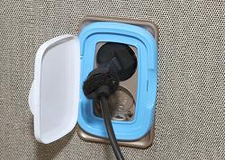 콘센트 커버 덮개 물티슈 커버 이용해서 만드는 방법