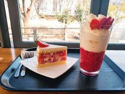 [대구여행/대구카페] 딸기케이크가 유명한 '커피명가 김광석거리점'