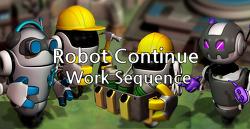광물채취 건설게임 - Robots Continue Work Sequence