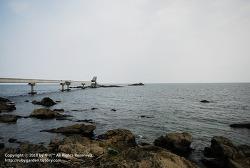 포항 여행 / 바다 낚시, 스킨스쿠버 포인트 / 구룡포 장길리복합낚시공원의 보릿돌 풍경