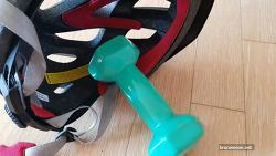 자전거 헬멧 사이즈가 작을 때, 늘리는 방법