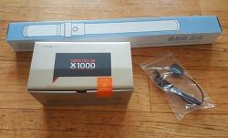 블랙박스 파인뷰 x1000 장착했습니다.