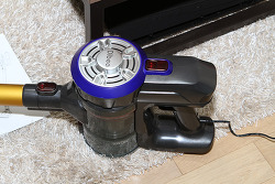 차이슨 디베아 d18 무선청소기 다이슨 V8 비교 사용기