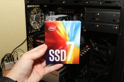 인텔 SSD 760P 시리즈 인텔 NVMe SSD 512GB 벤치마크