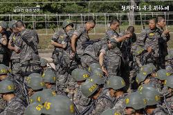 신병 1234기 5교육대 극기주 - 유격훈련 훈련