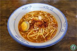 """[페낭 맛집] 말레이시아 페낭 먹거리, 싸고 맛있는 새우 누들 """"Bridge Street Prawn Noodle"""""""