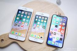 두달 후 평가! 아이폰X VS 아이폰8 플러스 VS 아이폰8 뭐가 좋아요?