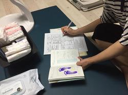 강동구보건소 간호사선생님 방문 영유아 건강상담 받았습니다
