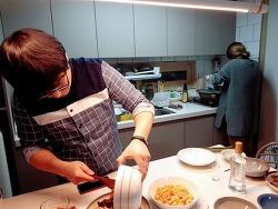 어쩐지 음식 사진으로 돌아보는, 1-2월의 만남들 :)