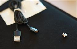 마그네틱 케이블 추천, 주파집 (Jupazip) 자석 USB 고속 충전 케이블