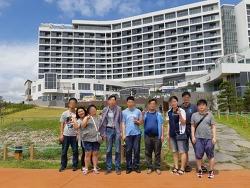 송국클럽하우스는 2018년 8월11일 주말프로그램을 갔다왔습니다