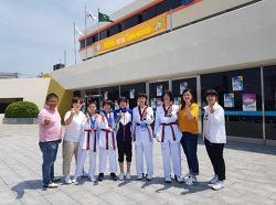 내토초 제47회 전국소년체전 태권도 메달2개 획득!