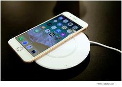 아이폰X, 아이폰8 플러스 지원되는 무선충전(벨킨 부스트업 무선충전기)