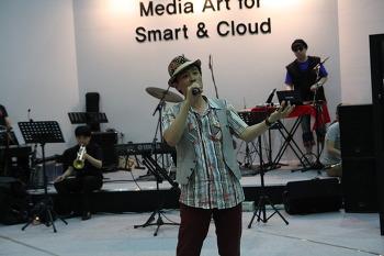 [09/08~09] 스마트&클라우드쇼 <사운드클라우드아트- 전진용 프로젝트밴드 재즈공연1>