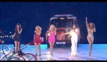 2012년 런던 올림픽 폐막식 스파이스걸즈 공연 실황!!