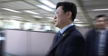 이재명, 솔직담백속시원 부산일보 인터뷰