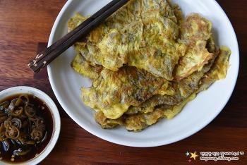 밀가루는 얇고 달걀은 듬뿍~ 고기맛 진하고 고소한 '육전 만들기'
