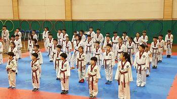신백초, 제38회 교육장기태권도대회 금빛선전
