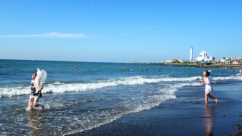 [삼양검은모래해변] 검은 모래 해변의  ...