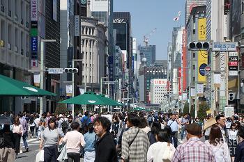 걷기 딱 좋았던 4월의 도쿄 #3,4 : 긴자와 츠키지 어시장 투어, 하라주쿠 돌고 곤파치, 시부야 쇼핑 투어를 끝으로 귀국