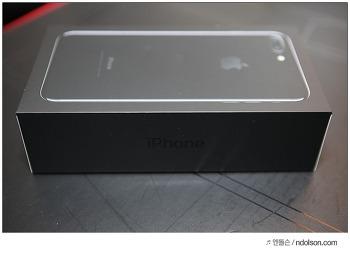내돈주고 산 아이폰7 플러스 제트블랙 개봉기 그냥 블랙사면 바보 아이폰7 색상 예술!