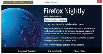 [Mozilla] Firefox Nightly 46 update