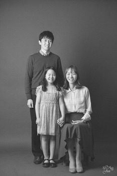 결혼 10주년 기념 가족 사진