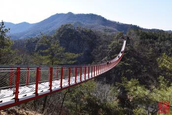 우리나라에서 가장 긴 출렁다리 '감악산 출렁다리' | 파주가볼만한곳