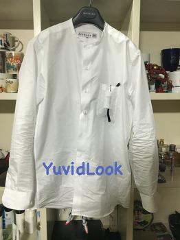 [YuvidLook 구매보고서] 비앙쉬르 라운드넥안경걸이 셔츠 멋진 남자셔츠