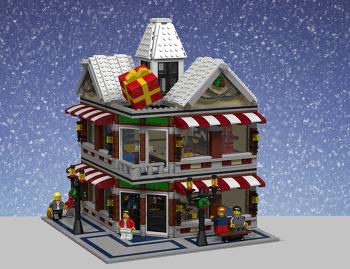 레고 윈터시리즈 윈터토이샵 모듈러 창작 (MOC)