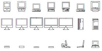 맥(Mac) 30주년 기념 이미지 폰트(Font) - 맥 폰트(Mac Font) 무료 다운로드