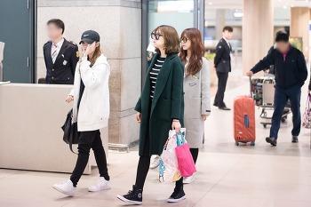 160228 인천국제공항 입국 하영