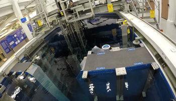 고프로 액션캠으로 촬영한 원자로 가동 및 정지하는 희귀영상