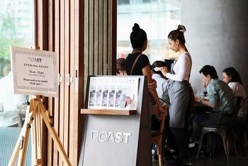 방콕 엠쿼티어 맛집 브런치 레스토랑 로스트