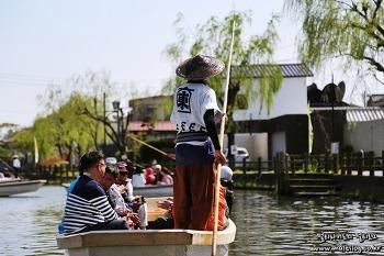 [후쿠오카여행] 일본의 베니스 물의도시 야나가와, 뱃놀이를 즐기자!