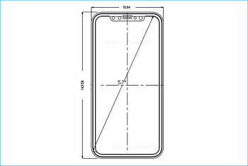 설계도로 미리 만나보는 아이폰8? 디자인과 출시예정일?