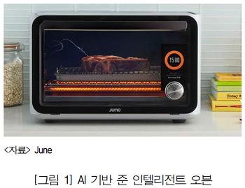 [iitp] 인공지능 기반 주방 가전 'June Intelligent Oven'